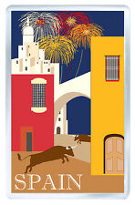 SPAIN VINTAGE REPRO FRIDGE MAGNET SOUVENIR IMAN NEVERA