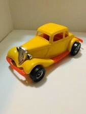 """Vintage 11"""" Durant Plastics/ Tootsietoy 1934 Ford Victoria Hot Rod Made in USA"""