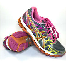 ASICS Gel Kayano 20 Anniversary Women's 9.5 T3N7N Running Shoes Gray/Pink/Orange