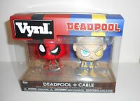 Marvel Deadpool and Cable VYNL Figure 2-Pack Funko