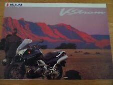 Suzuki V-Strom 1000 Motorcycle Sales Brochure 2002