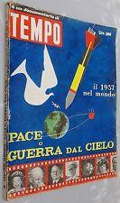 """Rivista documentario di Tempo del 1957 """"Pace o Guerra dal Cielo"""""""