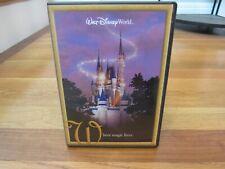 RARE 2002 Walt Disney World Where Magic Lives Promo DVD Disneyland Collectible