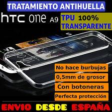 FUNDA TPU DE GEL 100% TRANSPARENTE PARA HTC ONE A9 CARCASA PLASTICO
