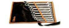 Beta Tools 142/B6-Set Of 6 Reversible Ratcheting Combination Wrench In Wallet