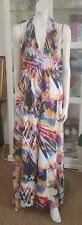 Ladakh maxi dress.Sz10.Fully lined halter.Excellent condition