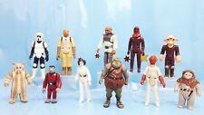 original Star Wars Figuren - 11 Stück aus den 80er Jahren -  5 TAGE Angebot