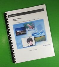 """LASER 8.5X11"""" Sony DSC HX100 HX100V Full Camera 261 Page Owners Manual Guide"""