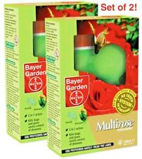 2 X BAYER GARDEN MULTIROSE 2 CONCENTRATE 100ML - NEW & BOXED