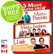 Meet The Parents / Meet The Fockers / Little Fockers (DVD 2014) NEW, Ben Stiller