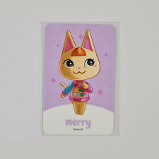 Amiibo NFC Karte Animal Crossing Mischka / Merry 252 Switch Lite 3DS