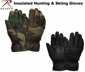 THERMOBLOCK TACTICAL INSULATED HUNTING GLOVES-MILITARY-WINTER-WATER RESISTANT