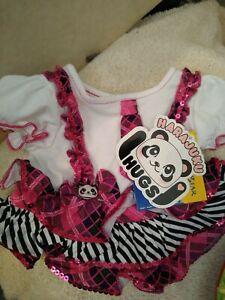 Build A Bear BABW HARAJUKU HUGS Dress nwt plaid dress