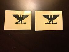 Vietnam US Army Rank Insignia Sticker Decals For Helmet Liners Subdued Colonel