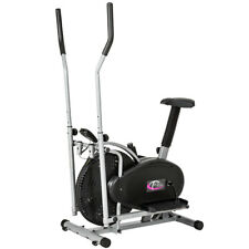 CYCLETTE ELLITTICA PROFESSIONALE ELLIPTICAL ERGOMETRO + DISPLAY LCD