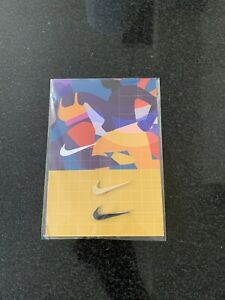 Nike Swoosh Lapel Pin (2) Gold And Silver