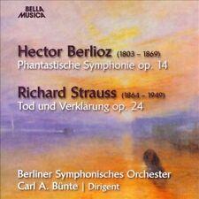 "Berlioz: Phantastische Symphonie, Op. 14; Richard Strauss: Tod und Verkl""rung, Op. 24 (CD, Sep-2013, Bella Musica)"