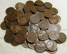 New listing 2 Rolls Of 1927 D Denver Lincoln Wheat Cents From Penny Collection