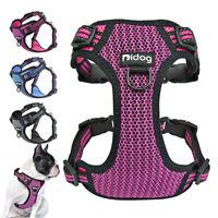 Reflective Breathable No Pull Dog Harness Soft Padded Large Dog Walking Vest
