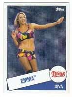 2015 Topps WWE Heritage Wrestling #56 Emma