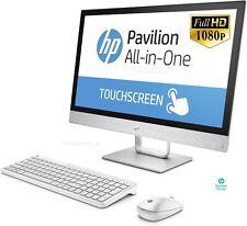 HP 24-r012na All-In-One PC - Quad-Core A12-9730P APU 2TB HDD Full HD DVDR WiFi