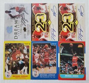 Michael Jordan Reprint Lot Of 6 Rookie RP, Auto RP With Lebron NR mint 💥🏀
