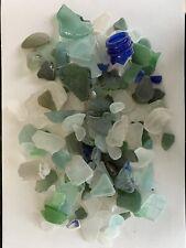 Sea Glass Beach Glass Random Colours & Shapes 525g