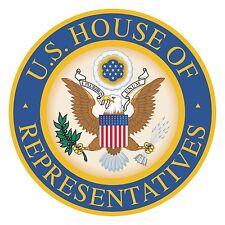 1x Adesivo camera dei rappresentanti statunitense GUARNIZIONE nazionale