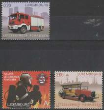 Luxemburg postfris 2009 MNH 1818-1820 - Brandweer / Firefighters