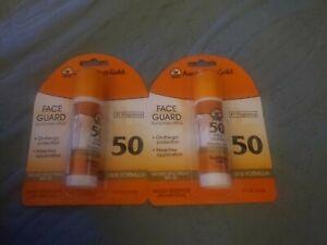 Australian Gold Face Guard 50 SPF Sunscreen Stick 2 Packs