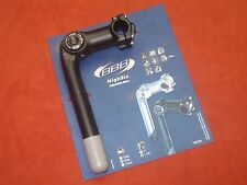 NEW BBB BHS22Q HighSix 95mm Handlebar Stem Adjustable Bike 25.4mm NOS
