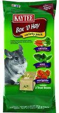 Kaytee Box O Hay Value Pack 3.45 Oz. Carrot/Mint/Marigold