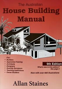 Australian House Building Manual Allan Staines 9th Updated Edition