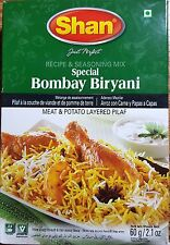 BUY 3 - SHAN SPECIAL BOMBAY BIRYANI  SEASONING MIX MASALA SPICES 60GM/2.1OZ