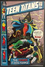 TEEN TITANS #34 1971 SWEET VF NICE BOOK  NICK CARDY HORROR COVER,POSSESSION