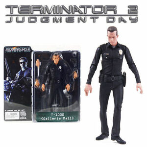 NECA Terminator 2 Judgment Day Galleria Mall T-1000 PVC Model Action Figures Toy