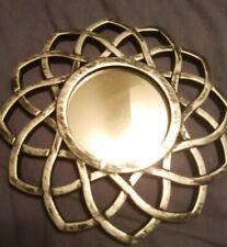 Mirror Decorative Mirror Black Silver Mirror