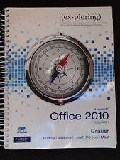 MICROSOFT OFFICE 2010 VOLUME 1 COMPUTER TEXTBOOK BY GRAUER POATSY HULETT KREBS