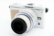 OLYMPUS PEN E-P1 12.3MP 14-42mm Lens Kit White [Exc+++] w/8GB SD,Strap [531]