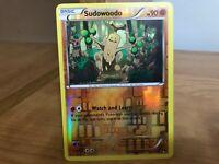 Pokemon Card Sudowoodo 67/122 Breakpoint Reverse Foil in Good Condition!