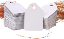 1000pcs Waterproof White Nursery Garden Price Tags With Strings Attached Multi