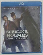 Sherlock Holmes: A Game of Shadows (Warner Bros blu-ray DVD)