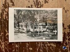 Vintage Twin Pines Resort And Motel On Mille Lacs Lake Garrison Minnesota RPPC