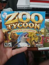 Zoo Tycoon Complete Collection (PC,2003) 2 Disc Set *RARE* ~PACKAGING SHOWS WEAR