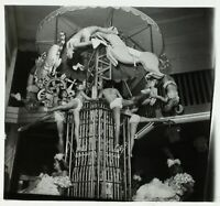 FRANCE Paris Bal Tabarin Danse Carrousel ca 1930, Photo Stereo Cellulose