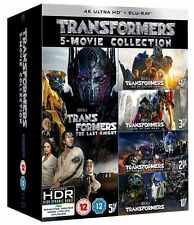 Transformers: 5-movie Collection  (4K Ultra HD) [UHD]