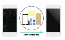 Replacement Front Screen Glass Lens +  Tool Kit for Apple iPhone 7 White