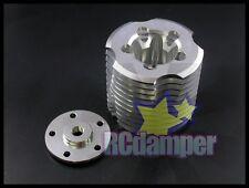 ALUMINUM ENGINE COOLING HEAD S TRAXXAS JATO TRX 2.5 NITRO RUSTLER T-MAXX TRX2.5