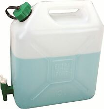 NEW JERRY CAN 10 LITRE WITH TAP CAMPING BUSHCRAFT h