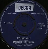 "ENGELBERT HUMPERDINCK the last waltzthat promise F 12655 uk decca 7"" WS EX/"